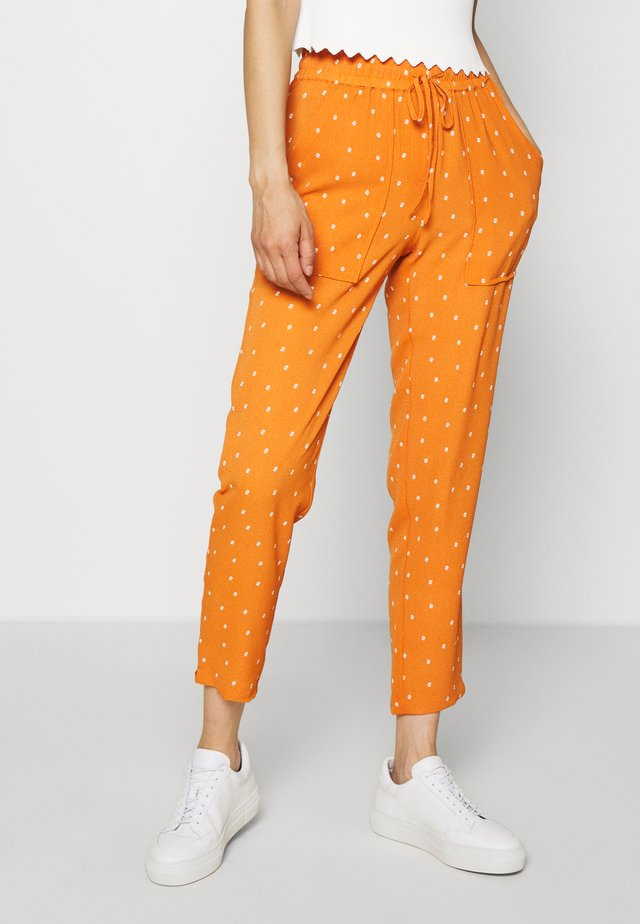 ABELLA PANTS - Trousers - apricot