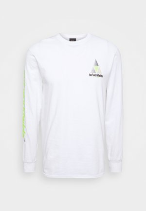 PRISM LOGO SPORTIF - Long sleeved top - white