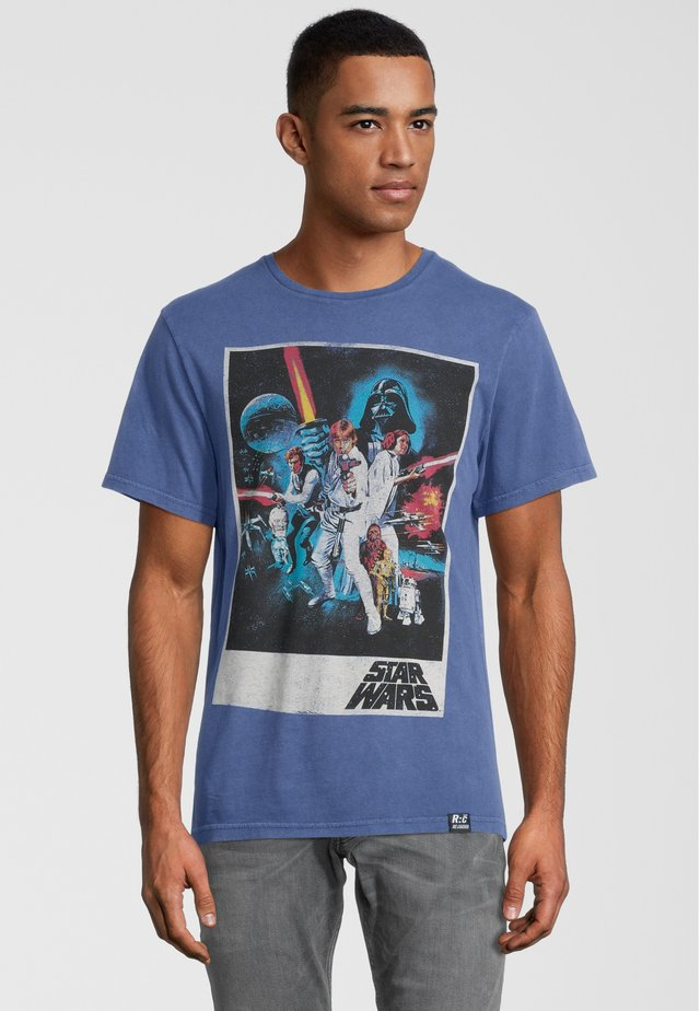 STAR WARS CLASSIC NEW HOPE  - T-shirt con stampa - blau
