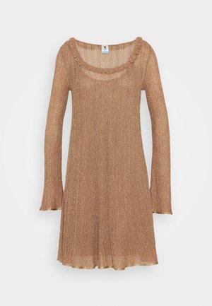 ABITO - Jumper dress - camel