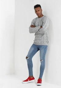 YOURTURN - Jumper - mottled light grey - 1