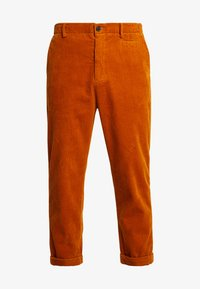 Suit - TOBY CORDUROY - Broek - burned yellow - 3