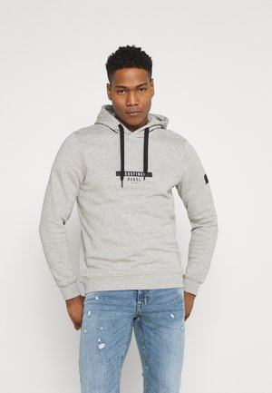 JONAS  - Sweat à capuche - light grey melange