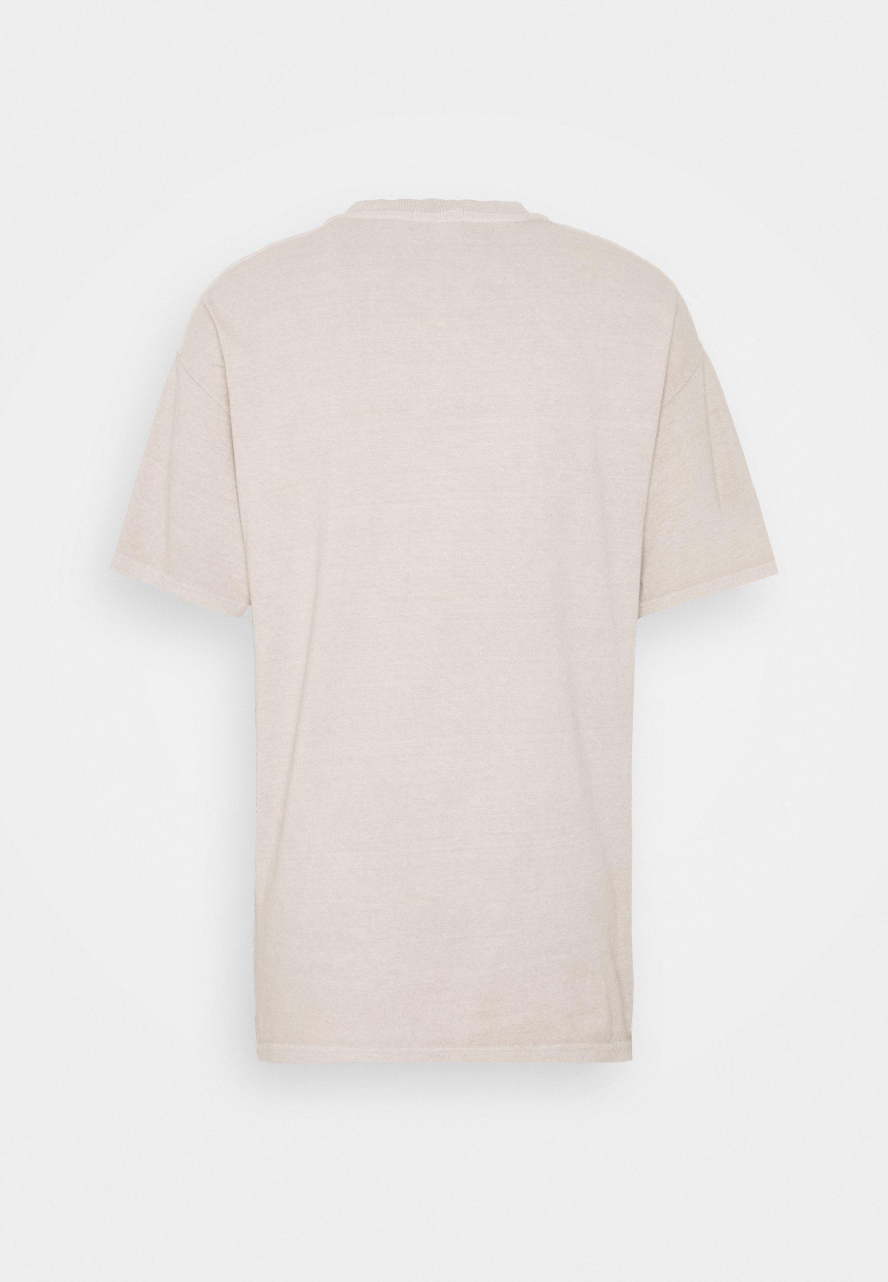 Topman Paris Heritage Tee - T-shirts Med Print Stone/stein
