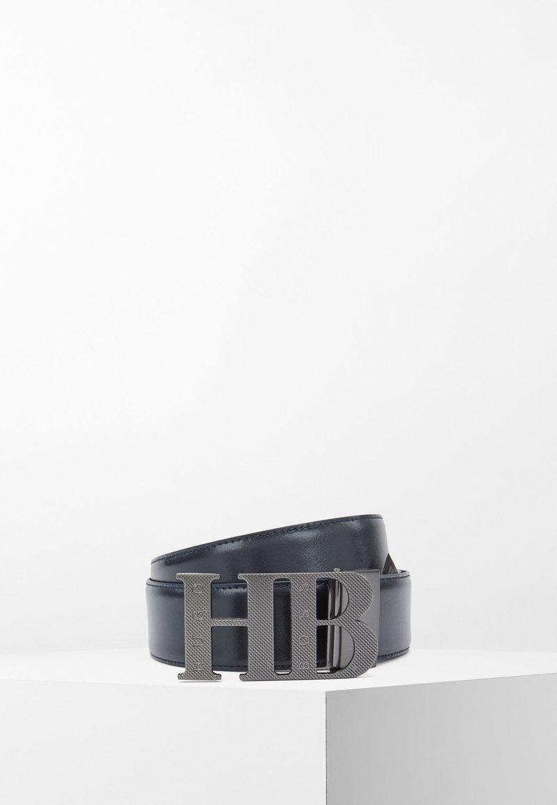 BOSS - BALWINNO - Belt - dark blue