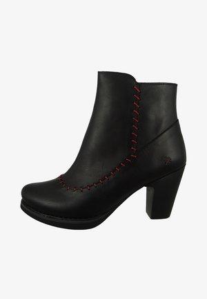 ELEGANTE GRAN VIA - High heeled ankle boots - black
