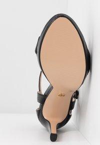 Tata Italia - Korolliset sandaalit - black - 6