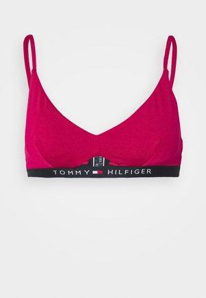CORE SOLID LOGO - Bikini top - ruby jewel