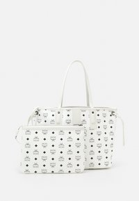 MCM - SHOPPER PROJECT VISETOS MEDIUM SET - Tote bag - white - 4