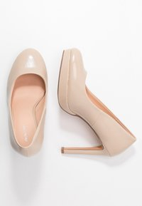 Even&Odd Wide Fit - High Heel Pumps - nude - 3