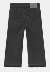 Levi's® - CROPPED WIDE LEG - Jeans baggy - black - 1