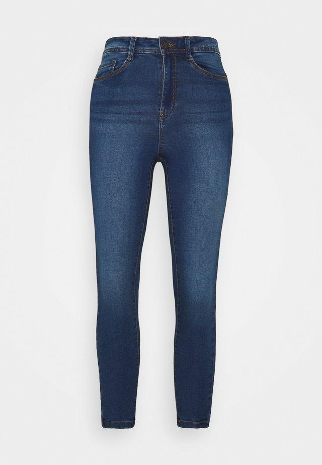 NMAGNES - Skinny džíny - medium blue denim