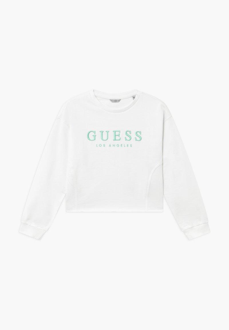 Guess - JUNIOR ACTIVE - Sweatshirt - blanc pur