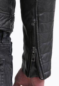 Be Edgy - BEANDY - Leather jacket - black - 5