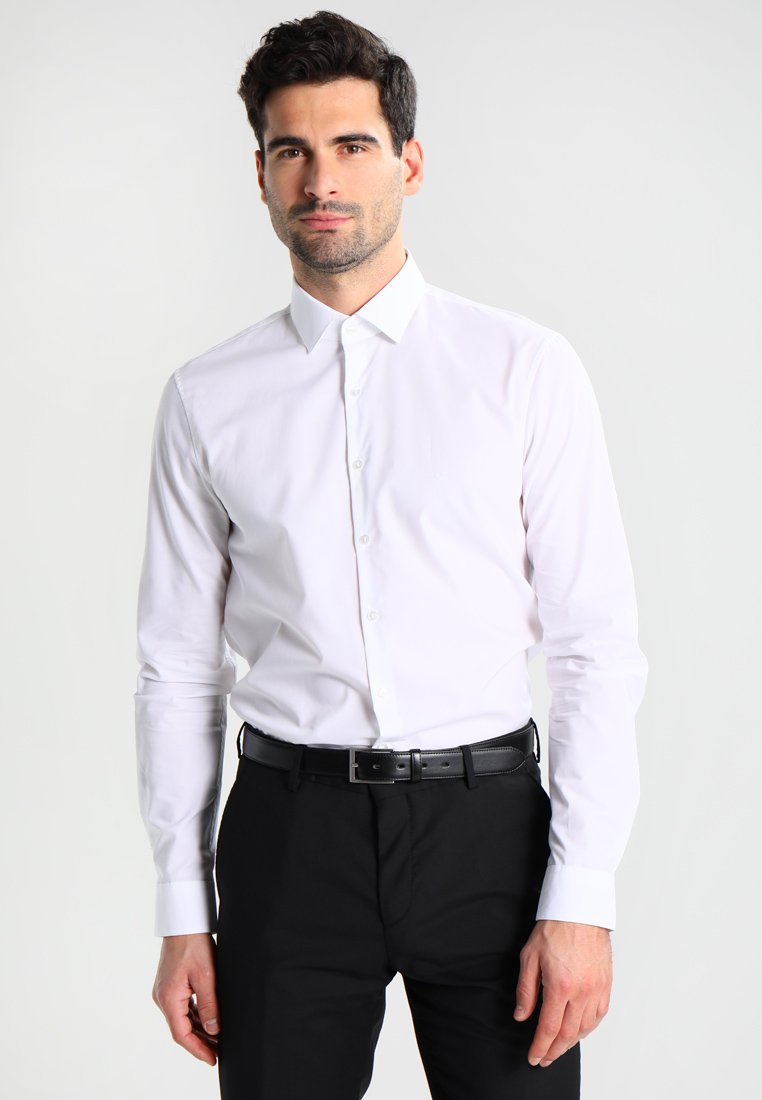 Calvin Klein Tailored - BARI SLIM FIT - Camicia elegante - white