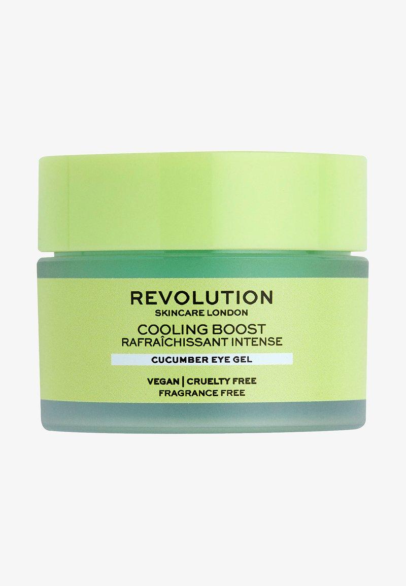 Revolution Skincare - COOLING BOOST CUCUMBER EYE GEL - Eyecare - -