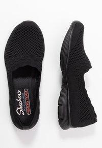Skechers - SEAGER - Slip-ons - black - 3