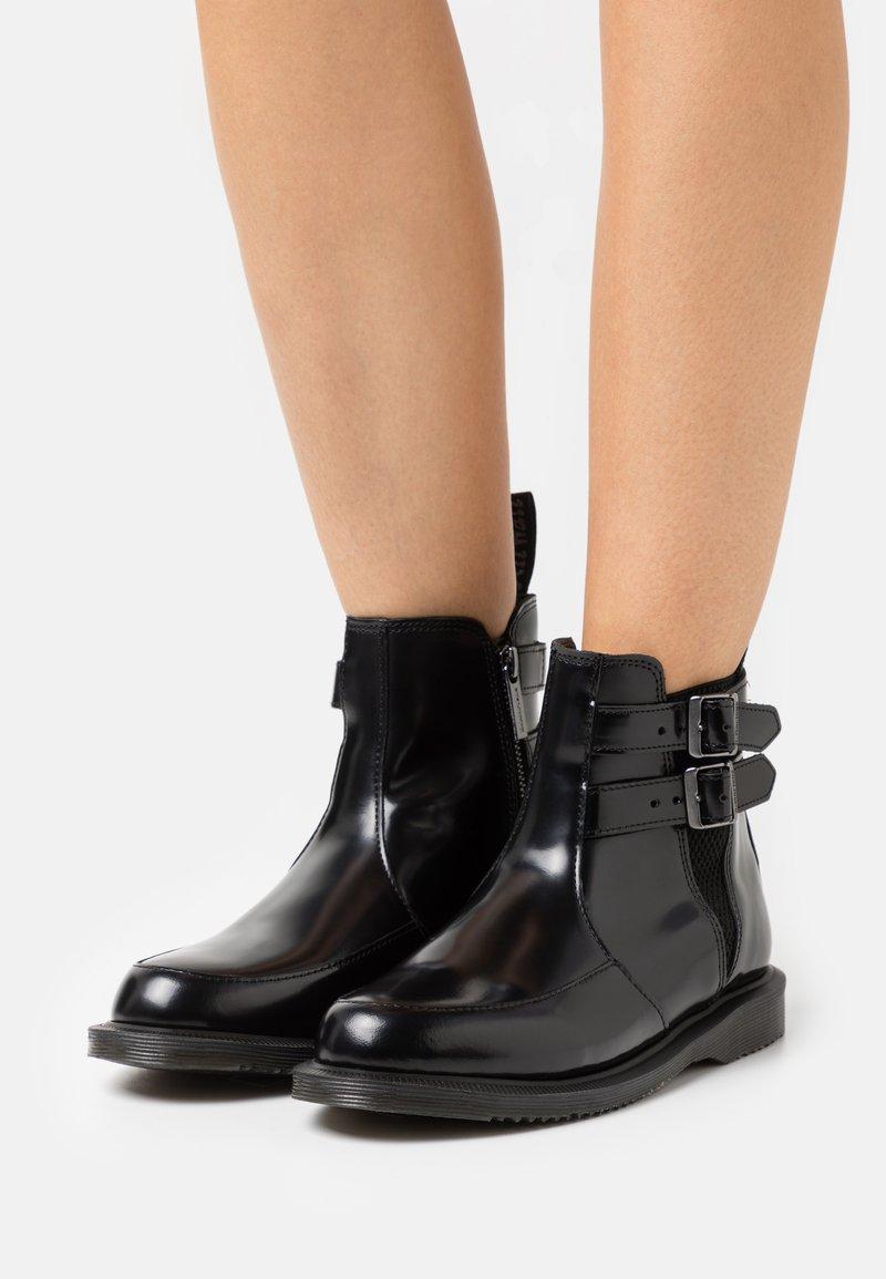 Dr. Martens - FLORA  - Kotníkové boty - black