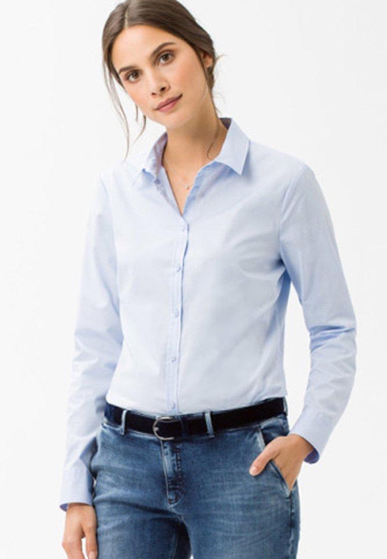 BRAX - STYLE VICTORIA - Button-down blouse - pale blue