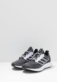 adidas Performance - ENERGYFALCON CLOUDFOAM RUNNING SHOES - Neutrale løbesko - core black/footwear white - 2