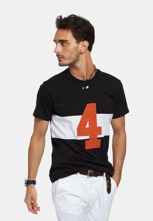 RAISEN - T-shirt con stampa - optic white