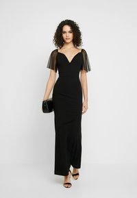 WAL G. - SLEEVE DRESS - Ballkjole - black - 2