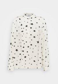 GARDEN CATO BLOUSE - Blouse - warm white/black