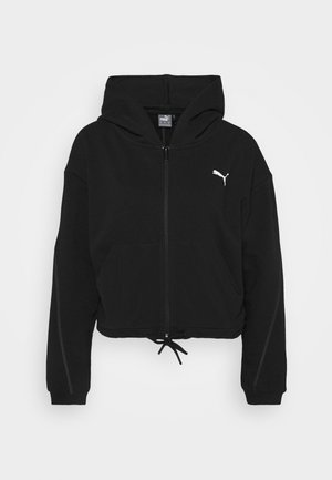 PAMELA REIF X PUMA COLLECTION FULL ZIP HOODIE - Hettejakke - black