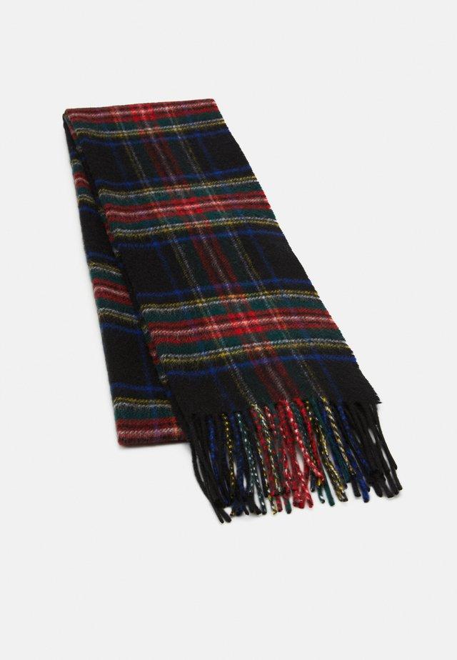 100% Cashmere Tartan Scarf - Sjaal - black stewart