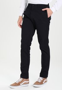 Carhartt WIP - SID LAMAR - Pantalones chinos - dark navy rinsed - 0