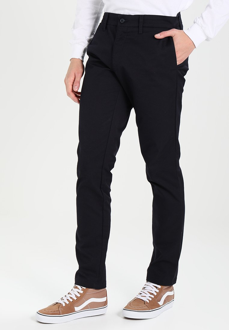 Carhartt WIP - SID LAMAR - Pantalones chinos - dark navy rinsed