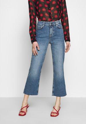 CROP FLARE - Široké džíny - soround