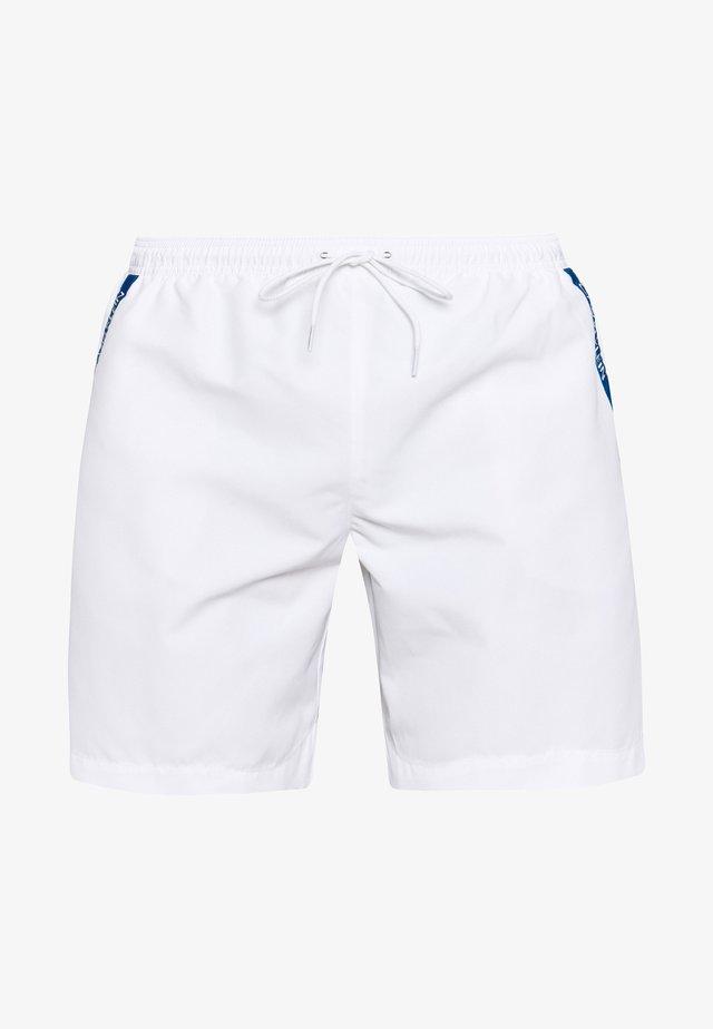 MEDIUM DRAWSTRING - Zwemshorts - white