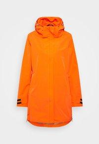 Luhta - INKARILA - Regenjacke / wasserabweisende Jacke - dark orange - 0