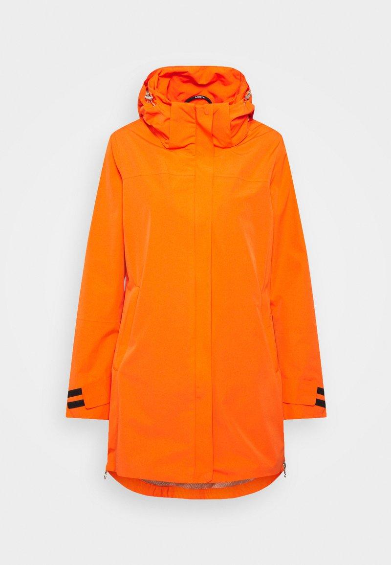 Luhta - INKARILA - Regenjacke / wasserabweisende Jacke - dark orange