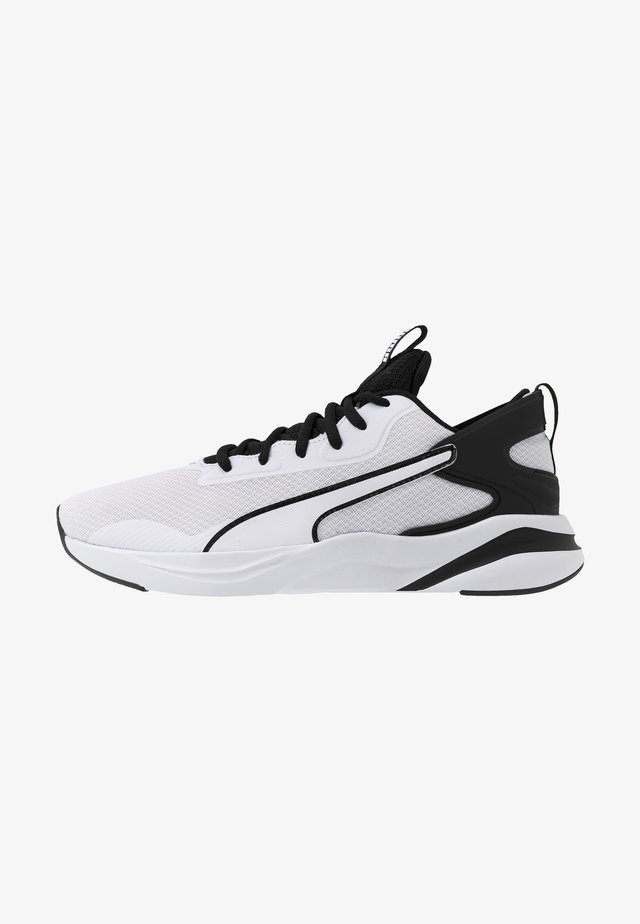 SOFTRIDE RIFT - Zapatillas de running neutras - white/black