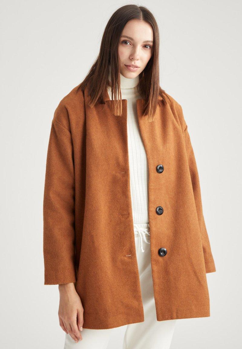 DeFacto - Winter coat - brown