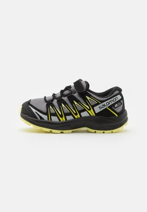 XA PRO 3D CSWP UNISEX - Hiking shoes - monument/black/charlock