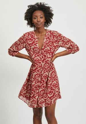 VIMAGIS DRESS - Abito a camicia - Red Dahlia