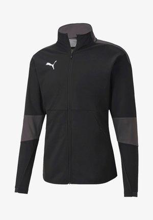 Training jacket - schwarzgrau