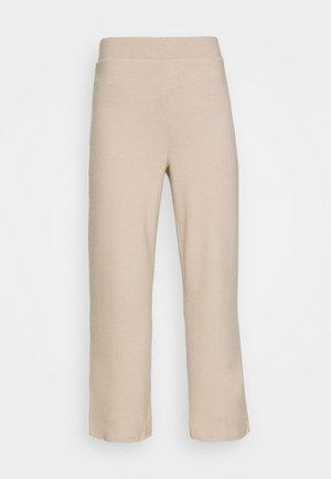 ALICIA CULOTTE TROUSERS - Pantalon classique - oxford tan