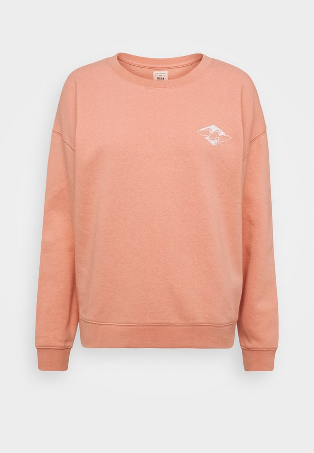 ALLETA - Sweater - washed coral