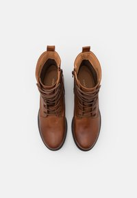 Anna Field - LEATHER - Lace-up ankle boots - cognac - 5