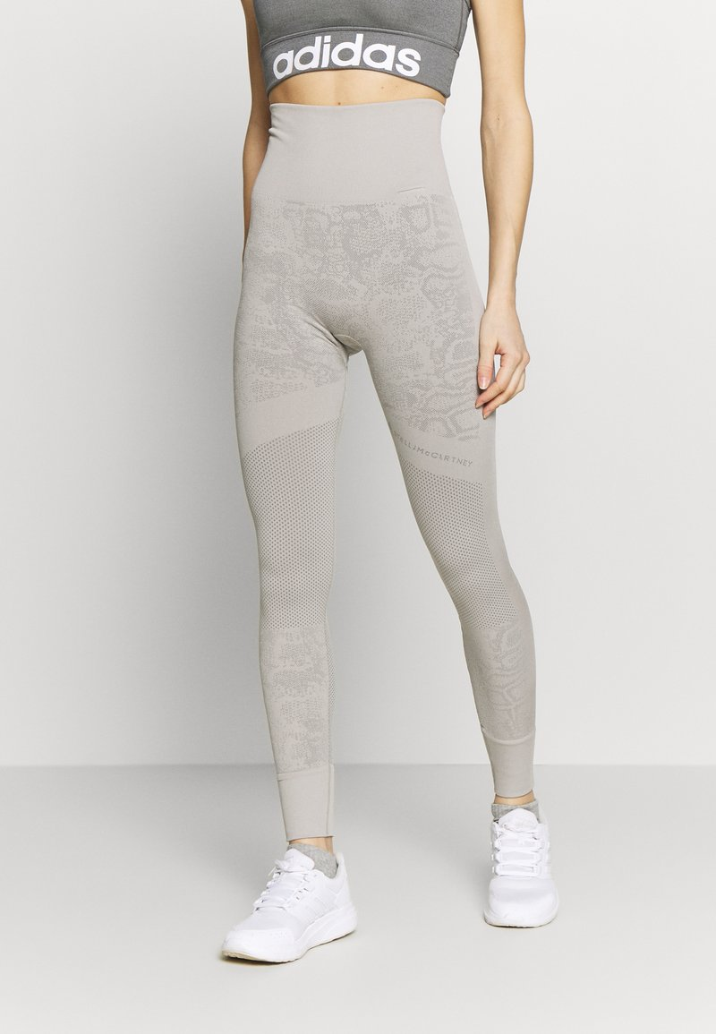 adidas by Stella McCartney - Tights - light brown/ice grey