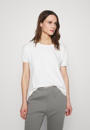 RITASUN - Camiseta básica - ecru