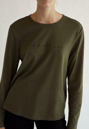 CHOICE - Long sleeved top - verde