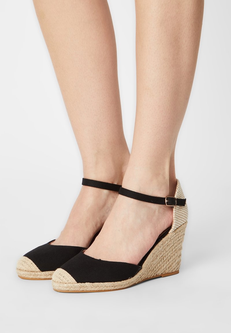 Anna Field Wide Fit - Wedges - black
