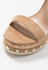 Steve Madden - MAURISA - High heeled sandals - tan - 2
