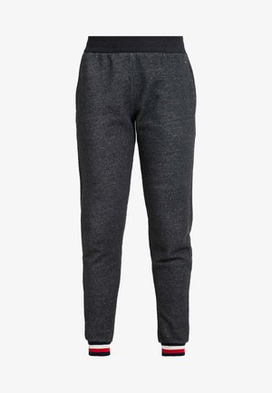 MODERN STRIPE TRACK PANT - Bas de pyjama - dark grey