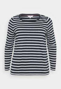Tommy Hilfiger Curve - CANDICE - Long sleeved top - white/desert sky - 0